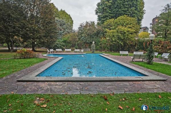 Appartamento in vendita a Milano, Con giardino, 145 mq - Foto 38