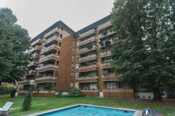 Appartamento in vendita a Milano, Con giardino, 145 mq - Foto 4