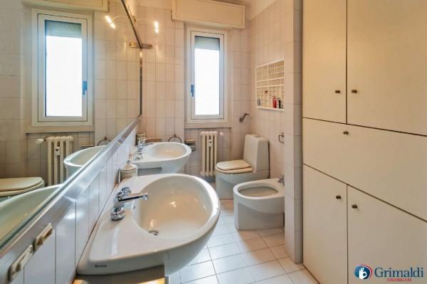 Appartamento in vendita a Milano, Con giardino, 145 mq - Foto 26