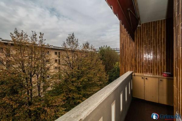 Appartamento in vendita a Milano, Con giardino, 145 mq - Foto 12