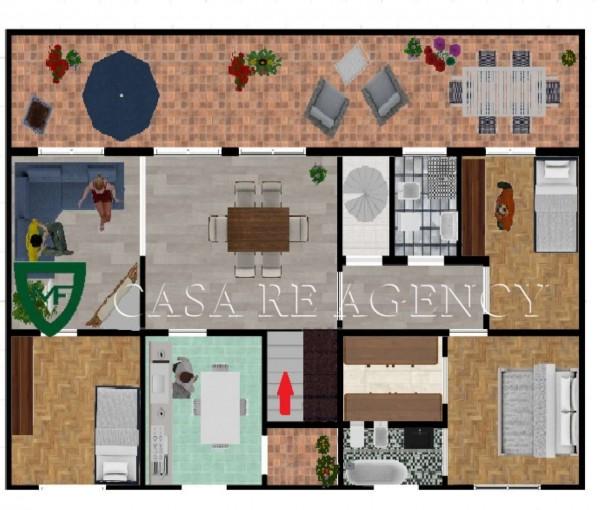 Appartamento in vendita a Varese, Biumo, 120 mq - Foto 2