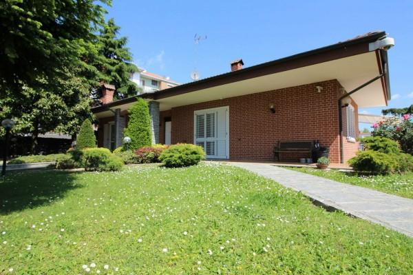 Villa in vendita a Alpignano, Centro, Arredato, con giardino, 420 mq
