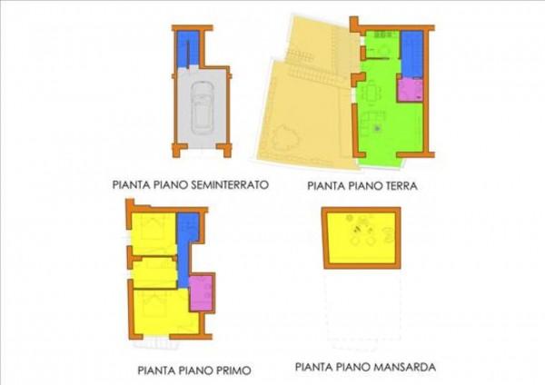 Appartamento in vendita a Siena, Con giardino, 145 mq - Foto 2