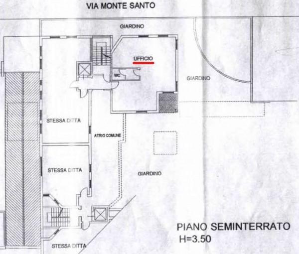 Ufficio in vendita a Monza, San Rocco, 95 mq - Foto 3
