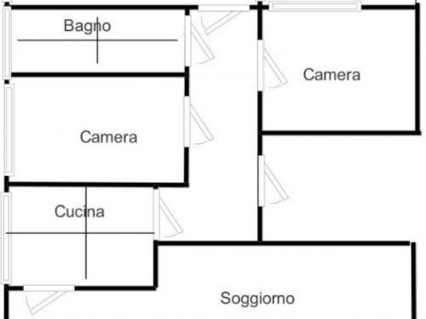 Appartamento in vendita a Cugliate-Fabiasco, Con giardino, 130 mq - Foto 2