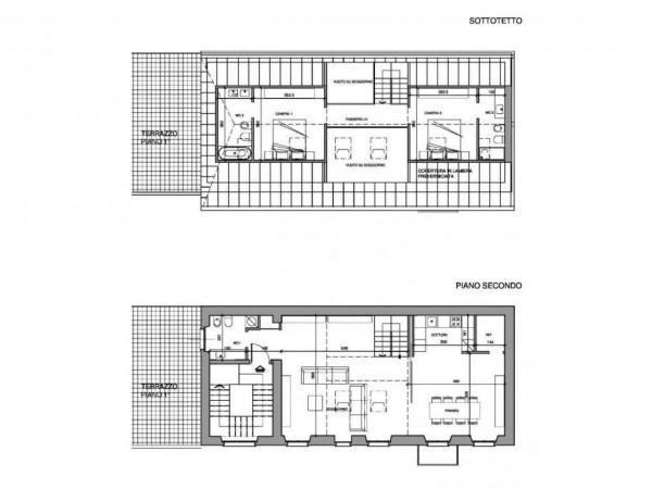 Appartamento in vendita a Milano, Washington, Con giardino, 160 mq - Foto 2