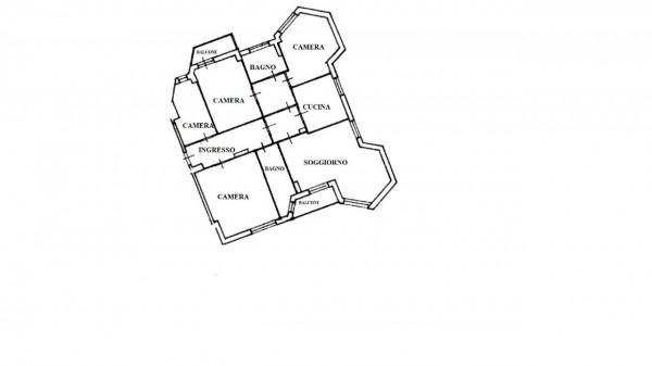 Appartamento in vendita a Milano, Con giardino, 150 mq - Foto 2