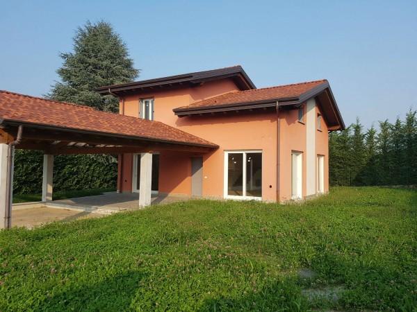 Villa in affitto a Casciago, Morosolo, Con giardino, 186 mq