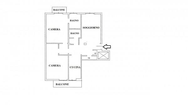 Appartamento in vendita a Milano, 105 mq - Foto 2