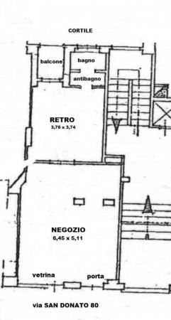 Negozio in vendita a Torino, San Donato, 50 mq - Foto 2