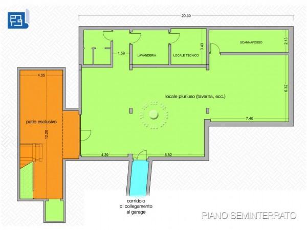 Villa in vendita a Firenze, Con giardino, 360 mq - Foto 4