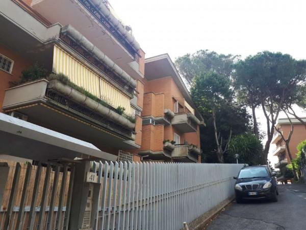 Appartamento in vendita a Roma, Grottarossa, Con giardino, 92 mq