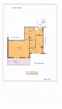 Appartamento in vendita a Roma, Capannelle, 78 mq - Foto 3