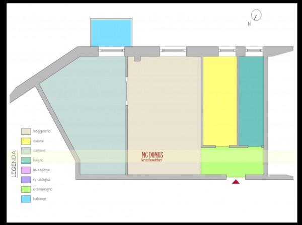 Appartamento in vendita a Milano, 60 mq - Foto 3