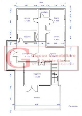 Casa indipendente in vendita a Vicopisano, Con giardino, 335 mq - Foto 32