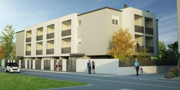 Appartamento in vendita a Campi Bisenzio, Con giardino, 64 mq