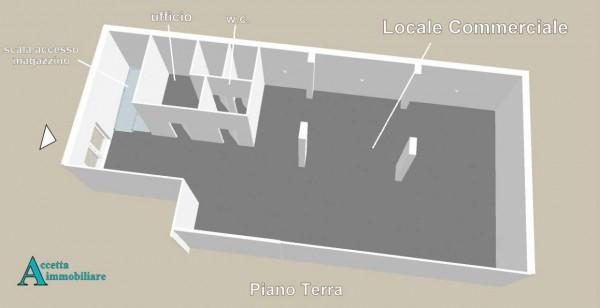 Locale Commerciale  in vendita a Taranto, Semicentrale, 460 mq - Foto 7