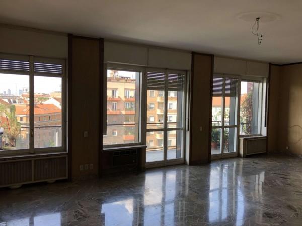 Appartamento in vendita a Milano, Porta Romana, Con giardino, 203 mq
