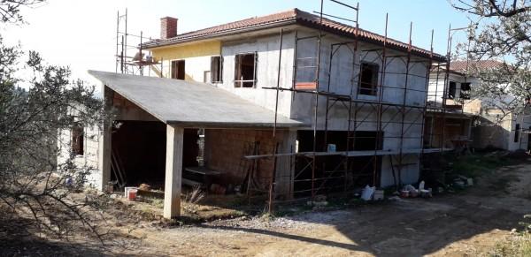 Villa in vendita a Palombara Sabina, Stazzano, Con giardino, 230 mq