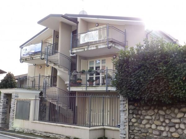 Appartamento in vendita a Giussano, Con giardino, 56 mq