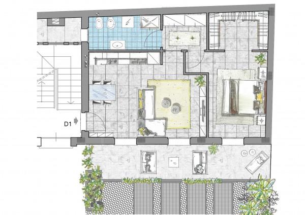 Appartamento in vendita a Inzago, Centro Storico, 76 mq