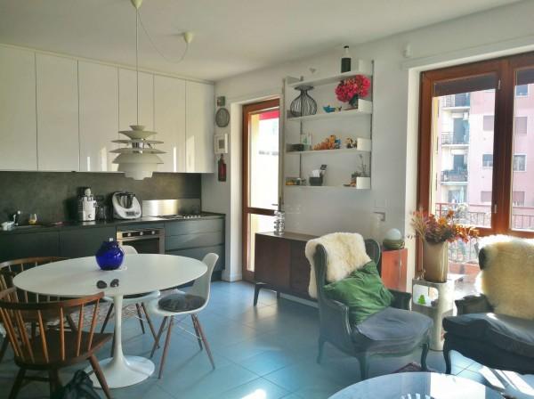 Appartamento in vendita a Milano, Piazzale Siena, Con giardino, 83 mq