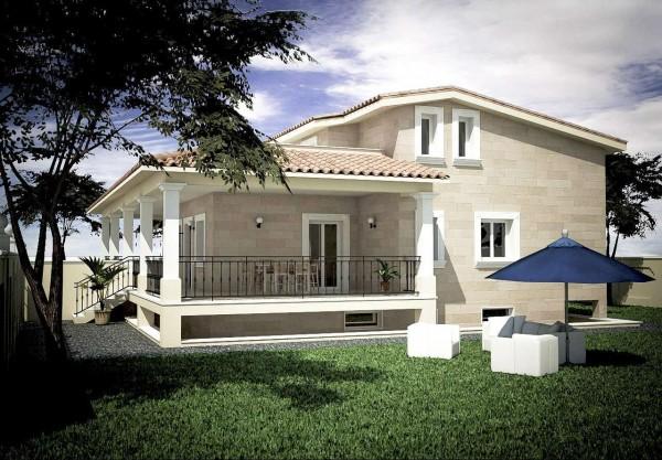 Villa in vendita a Roma, Tor Carbone, Con giardino, 200 mq
