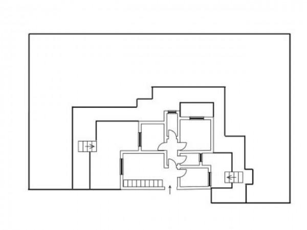 Appartamento in vendita a Roma, Ottavia, Con giardino, 220 mq - Foto 3