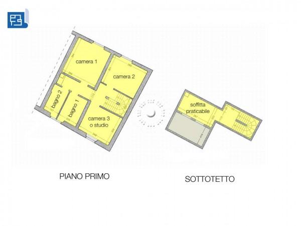 Rustico/Casale in vendita a Firenze, Con giardino, 147 mq - Foto 4