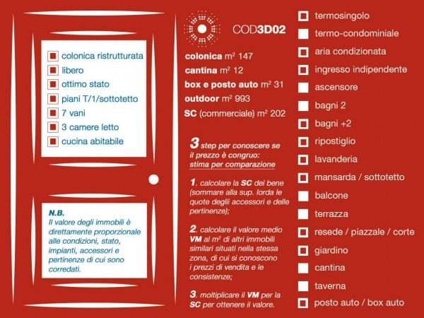 Rustico/Casale in vendita a Firenze, Con giardino, 147 mq - Foto 52