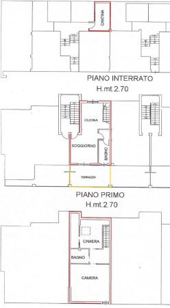 Appartamento in vendita a Pianezza, Confine Alpignano, 115 mq - Foto 3