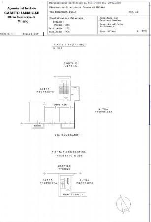 Appartamento in vendita a Milano, Rembrandt, 75 mq - Foto 2