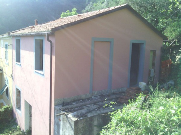 Rustico/Casale in vendita a Rapallo, Savagna, Con giardino, 90 mq