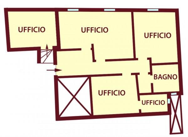 Ufficio in affitto a Bologna, 100 mq