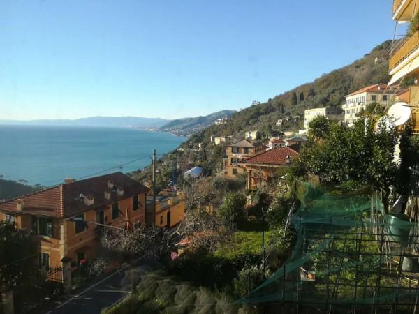 Appartamento in vendita a Camogli, Ruta, Arredato, 105 mq - Foto 4