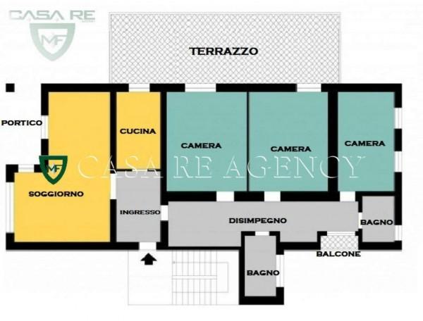Appartamento in vendita a Varese, S. Ambrogio, Con giardino, 172 mq - Foto 5