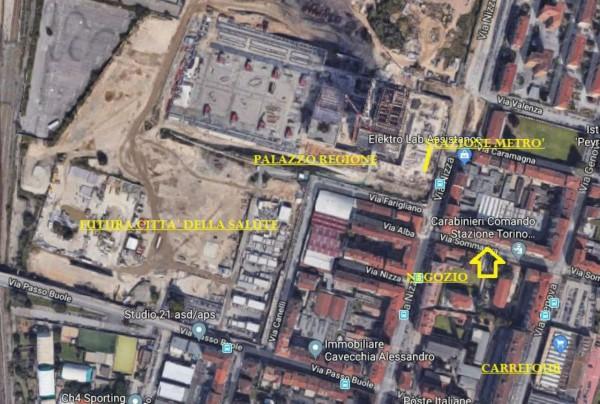 Negozio in affitto a Torino, Italia 61, 130 mq