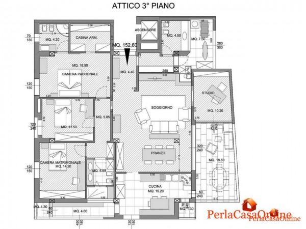 Appartamento in vendita a Forlì, Parco Urbano, Arredato, 230 mq - Foto 2