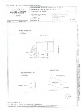 Appartamento in vendita a Genova, Priaruggia, 80 mq - Foto 2