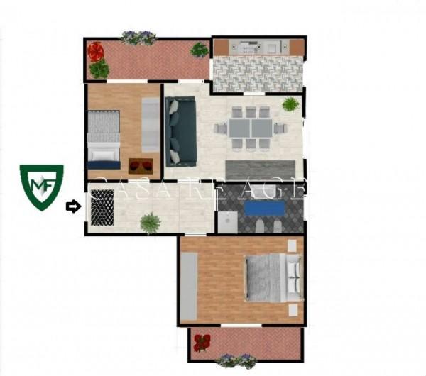 Appartamento in vendita a Varese, Ippodromo, 85 mq - Foto 2