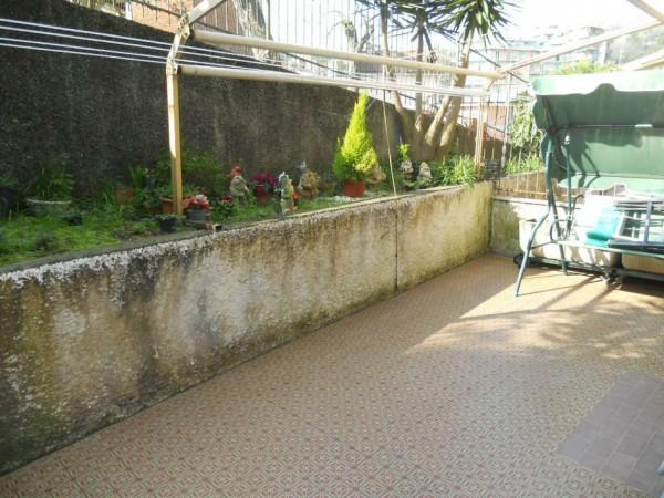 Appartamento in vendita a Rapallo, Laggiaro, Con giardino, 75 mq