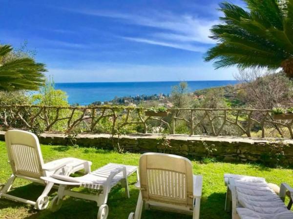 Appartamento in vendita a Rapallo, San Michele Di Pagana, Con giardino, 150 mq
