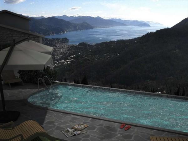Villa in vendita a Santa Margherita Ligure, S.lorenzo Della Costa, Con giardino, 300 mq