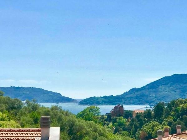 Appartamento in vendita a Lerici, Baia Blu, Arredato, con giardino, 55 mq