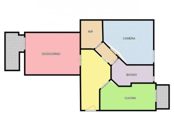 Appartamento in vendita a Milano, Corvetto, 75 mq - Foto 2