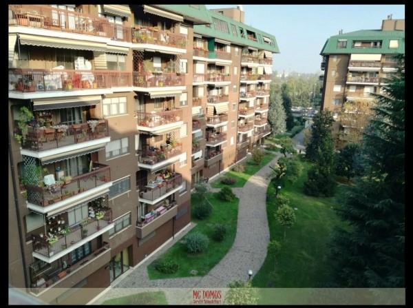Appartamento in vendita a Assago, Assago Milanofiori, Con giardino, 85 mq - Foto 22