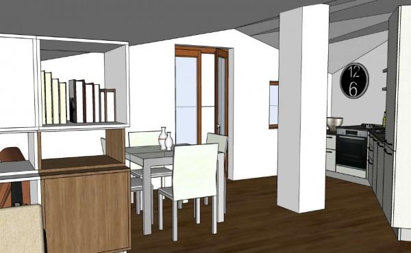 Appartamento in vendita a Buccinasco, Laghetti, 65 mq