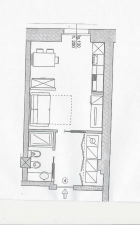 Appartamento in vendita a Milano, Sempione/castelvetro, 38 mq
