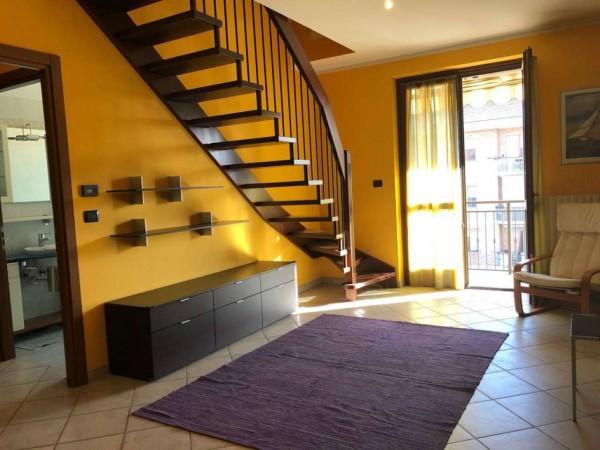 Appartamento in vendita a Candiolo, Centralissima, Arredato, con giardino, 73 mq