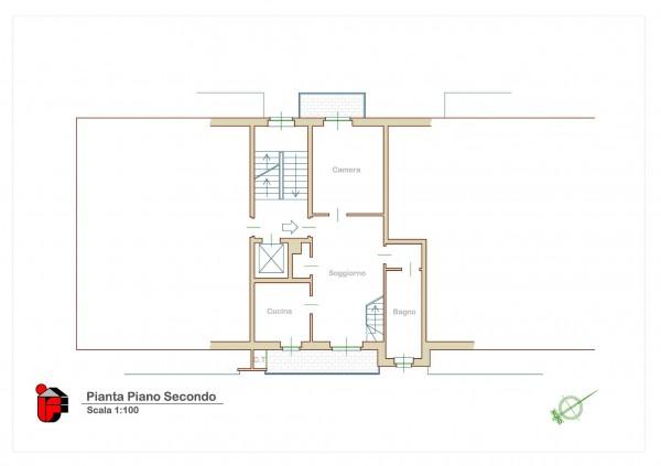 Appartamento in vendita a Candiolo, Centralissima, Arredato, con giardino, 73 mq - Foto 30